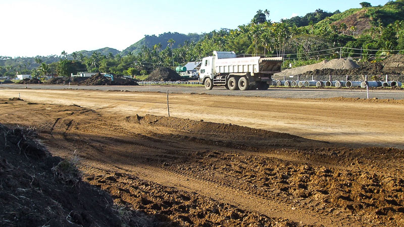 Savusavu Airport Runway Upgrade (2008) - Flametree Developments