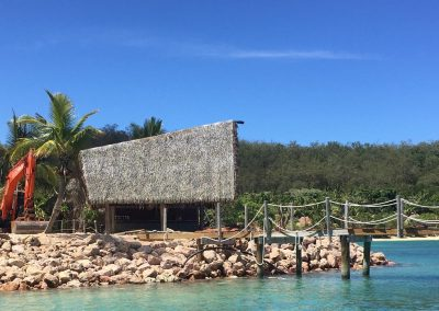 Likuliku Lagoon Resort – Rock Revetments (2020)